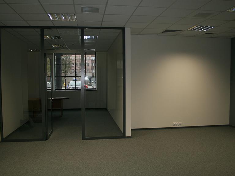 Wyremontowane wnętrze biura