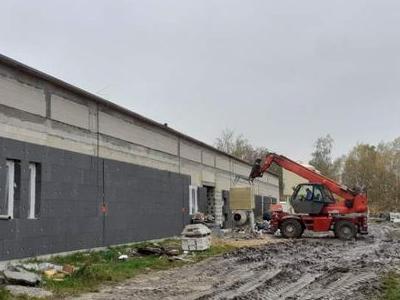 Prace remontowe budynku 17